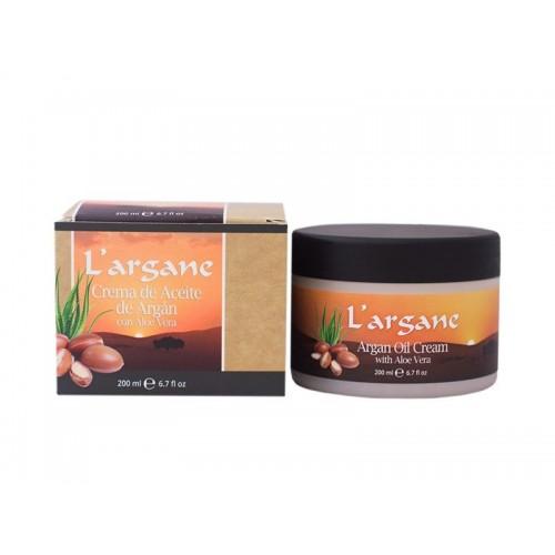 Crema di Argan e Aloe Vera