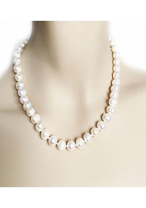 Weiße Perle