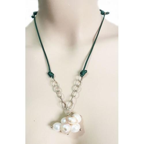 Perlenkette Lux