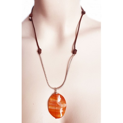 Halskette Amber