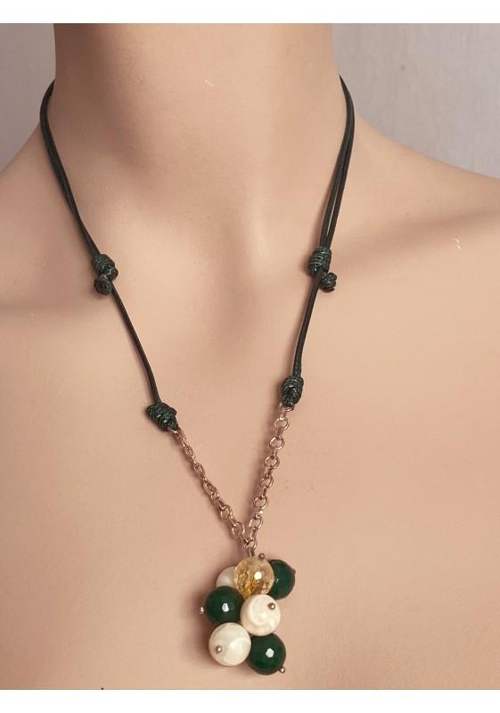 Halskette Stein