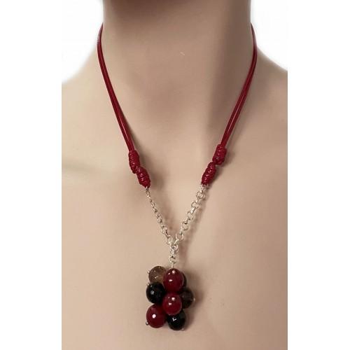 Halskette Onixe