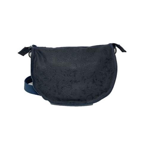 Blå trykkpose