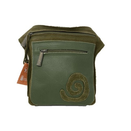 Green belt bag