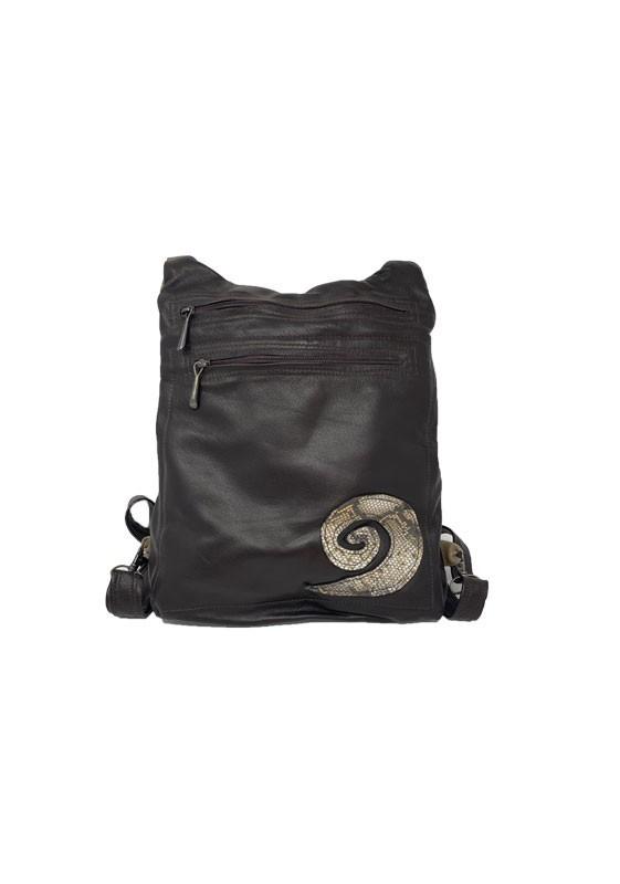 Black & Beige Backpack