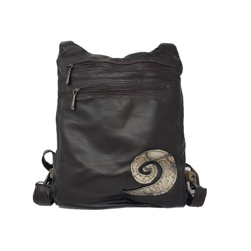 Black & Beige Backpack