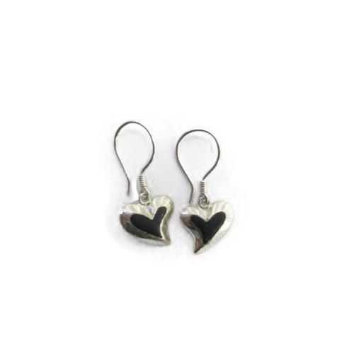 Boucle d'oreille coeur PE01
