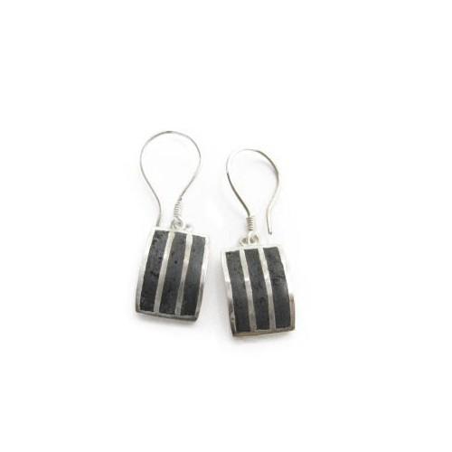 Boucles d'oreille de lave PE04
