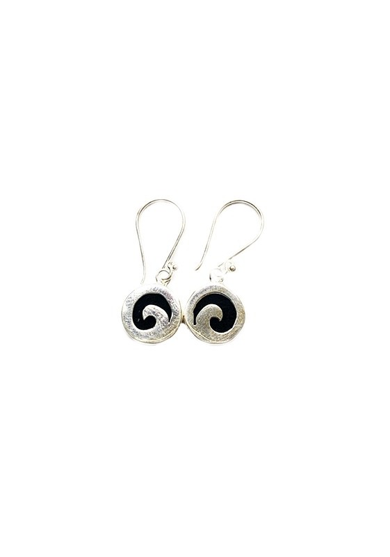 Boucles d'oreilles lave PE012